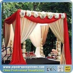 2013 indian wedding drapes decoration design