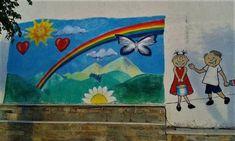 Το ωραιότερο σχολικό προαύλιο με επιδαπέδια παιχνίδια βρίσκεται στη Νάξο! #sxoleio #σχολειο #ναξος #naxos #ομορφοσχολειο #ωραιοσχολειο #σχολειοναξος Painting, Art, Art Background, Painting Art, Kunst, Paintings, Performing Arts, Painted Canvas, Drawings