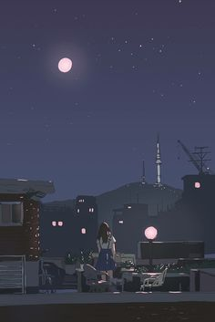 Anime Scenery Wallpaper, Aesthetic Pastel Wallpaper, Cute Wallpaper Backgrounds, Aesthetic Backgrounds, Galaxy Wallpaper, Cute Wallpapers, Aesthetic Wallpapers, Kawaii Wallpaper, Girl Wallpaper