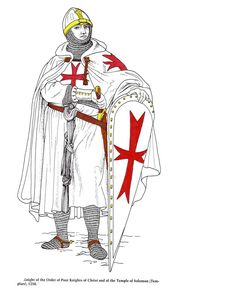KNIGHT OF THE ORDER OF THE POOR KNIGHTS OF CHRIST.