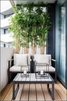 70 Rustic and modern living ideas for stylish, elegant interior design - Balkon Ideen Wohnung - Balcony Furniture Design Apartment Balcony Garden, Apartment Balcony Decorating, Apartment Balconies, Cozy Apartment, Apartment Living, Apartment Office, Dream Apartment, Apartment Design, Apartment Plants