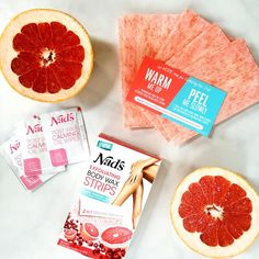 Nad's Exfoliating Body Wax Strips pleasantly surprised me. This is the world's first exfoliating waxing strip. These are patented with Nad's Xfol™ technology and not only do they smell good, but they really work! It's all in the two-step method. The exfoliating side buffs away buildup of dead skin cells and releases trapped ingrown hair, which allows the premium wax to adhere better to the skin and remove even more hair.  -BelleDeCouture.com