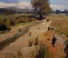 Colley Whisson A Sign of Change, Aust Australian Painters, Australian Artists, Classic Paintings, Beautiful Paintings, Contemporary Landscape, Abstract Landscape, Seascape Paintings, Landscape Paintings, Impressionist Art