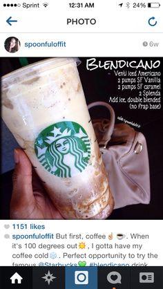 Starbucks – Tables and desk ideas Starbucks Secret Menu Drinks, Starbucks Recipes, Coffee Recipes, Starbucks Coffee, Low Calorie Starbucks Drinks, Starbucks Order, Starbucks Hacks, Iced Coffee, Fun Drinks