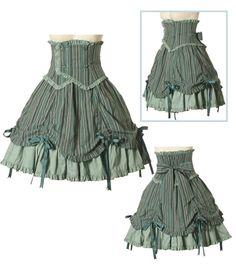 steampunk skirt design
