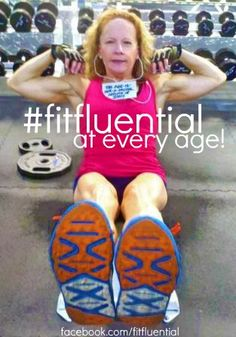 You're as young as you feel! Keep moving, like Jody. #fitfluential