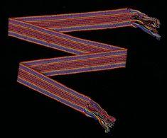 Boy's sash (Faja), Tz'utujil Maya ^ Minneapolis Institute of Art Maya Mia, Late 20th Century, Artist Gallery, Minneapolis, Sash, Boys, Girdles, Baby Boys, Senior Boys