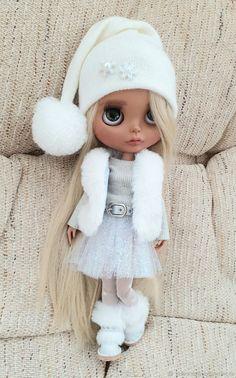 Кастом: Кукла блайз ООАК Снегурочка, шарнирная – заказать на Ярмарке Мастеров – MSA7ARU   Кастом, Екатеринбург