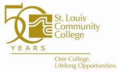 St. Louis Community College 50th anniversary logo