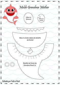 Trendy Baby Boy Decorations Birthday Source by nickysteenkamp Shark Birthday Cakes, Boy Birthday Parties, Baby Birthday, Themed Parties, Birthday Ideas, Trendy Baby, Baby Boys, Baby Hai, Shark Craft