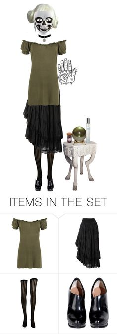 """I'm willing to read your palm"" by xx-gothic-presley-xx ❤ liked on Polyvore featuring art"