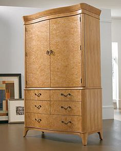 Thomasville Furniture   Bogart Luxe Bedroom Armoire