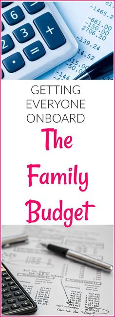 Getting Everyone Onboard With The Family Budget
