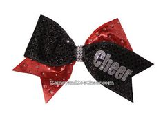3b0e16a7bd Bling Glitter Cheer Bow-Can Personalize!-Bling Glitter Girl Cheer Bow