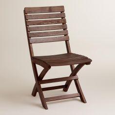 Mika Folding Chairs, Set of 2 | World Market $120.00 set of 2