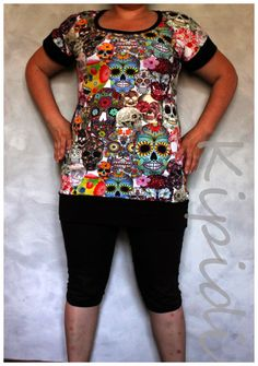 Pääkalloja Floral Tops, Sewing, Blouse, Crafts, Women, Fashion, Moda, Dressmaking, Manualidades