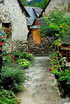 Ustou (Ariège/Pyrénées) ,France