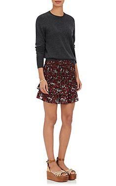 Isabel Marant Étoile Afos Cotton Voile Miniskirt - Skirts - 504759937