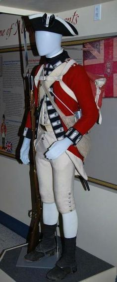 Uniform of the 7th Royal Fusiliers, 1775.