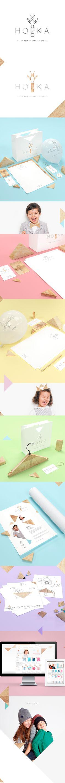 HOKA clothes for children by Joanna Namyślak, via Behance
