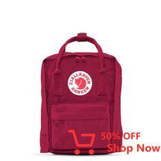Shop your Kanken bag or backpack from the official Fjallraven US online store. We have Kanken mini, re-Kanken and the original, iconic Kanken bag Small Backpack, Mini Backpack, Backpack Bags, Kanken Mini, Mochila Kanken, Everyday Bag, Projects To Try, Unisex, Classic
