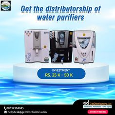 Get the #distributorship of water purifiers under the brand name AQUIFER. Share your contact number to grab this #BusinessOpportunity. #waterpurifiers