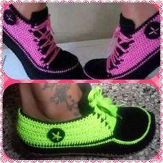 zapatos converse tejidos para damas y niñas
