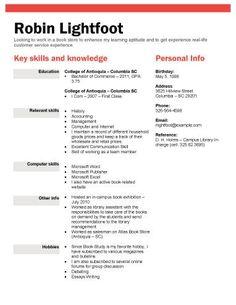 example of resume format for student resumeformat