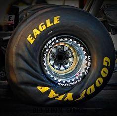 Wrinkled Tire, NHRA. From Wheel Torck.