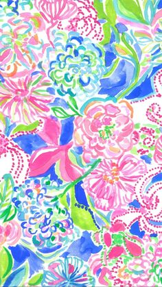 Lilly Pulitzer iPhone Wallpaper Background