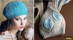 Cum de a lega ia spițele: set cu un deget Crochet Motif, Knit Crochet, Crochet Hats, Knit Patterns, Stitch Patterns, Knitted Beret, Knitting For Kids, Knitting Ideas, Crochet Projects