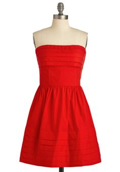 What a Keeper Dress in Red