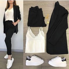 26 Ideas For Sport Shoes Outfit Hijab – Hijab Fashion Casual Work Outfits, Business Casual Outfits, Mode Outfits, Stylish Outfits, Hijab Casual, Fall Outfits, Look Fashion, Hijab Fashion, Trendy Fashion