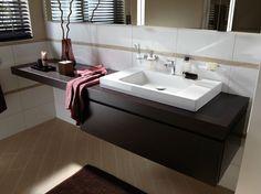Móvel lavatório único de madeira BETTEROOM UNTERBAUMODUL by Bette design Schmiddem Design