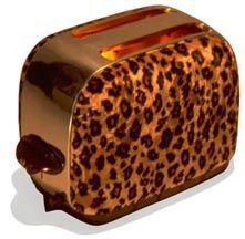 Leopard Print Toaster