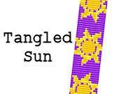 Disney Loom Bracelet Pattern Rapunzel Tangled Sun by MigotoChou, $6.00