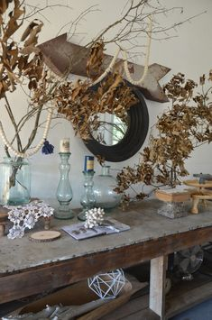 4 Ways to Decorate for Fall for the Reluctant Seasonal Decorator - image via Nesting Place