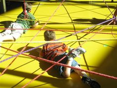 rope obstacle course visual