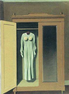 1934 Homage to Mack Sennett - René Magritte