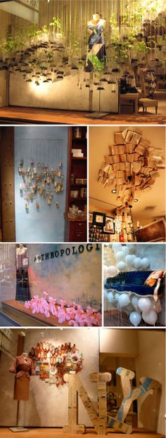 Anthropologie Display-Heart NY