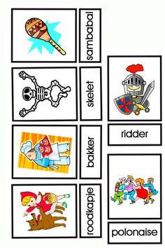 Bingo: Carnaval (kaarten voor de leerkracht, behorende bij de bingo) 4