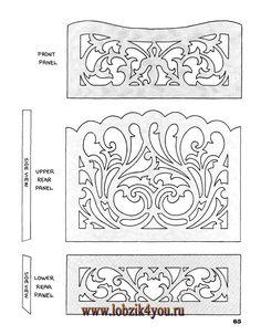 Aserrado artístico.:. Clásico Calado Scroll Saw Patrones (Sterling 1991) _66