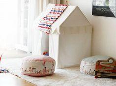 children at play floor cushions