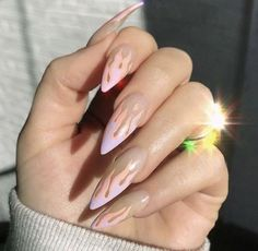 TOP AMAZING GEL NAILS ART OF 2019 - Page 24 of 41 The simple spike design is a chic hue that suits all nail lengths and shapes. This nail art is characterized by two shades of gray on long, pointed nails. Use gray to make the shape Read more… Gorgeous Nails, Pretty Nails, Amazing Nails, Hair And Nails, My Nails, Fire Nails, Dream Nails, Cute Acrylic Nails, Acrylic Nails Coffin Kylie Jenner