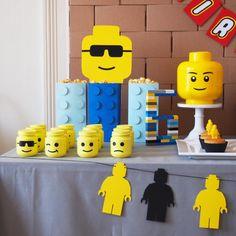 décoration anniversaire lego diy