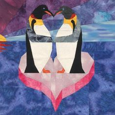 Penguin Love Quilt Pattern