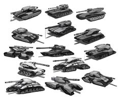 tank concepts by sambrown