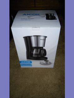 #Aicok #Coffee #Maker #Quick #Thermal Coffee #Machine with #Glass #Carafe and #Reusable #Mesh #Filter 1000W, Black #Stainless #Steel http://amzn.to/2qo3pxj