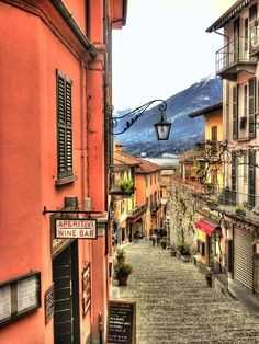 | ♕ |  Bellagio - Lake Como, Italy  | Shopping and looking for George Clooney