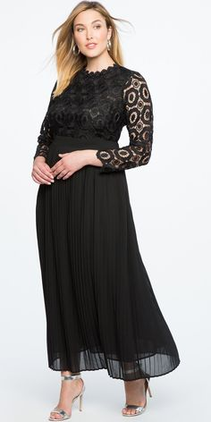 Stay elegant in the timeless classic LBD: our plus size black dresses work well at the office, or on more formal occasions. Plus Size Party Dresses, Dress Plus Size, Plus Size Bridesmaid, Bridesmaid Dresses, Bridesmaids, Mob Dresses, Dresses With Sleeves, Bride Dresses, Peplum Dresses